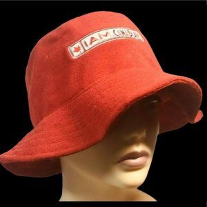 I Am Canadian Bucket Hat Red Floppy Terry Molson